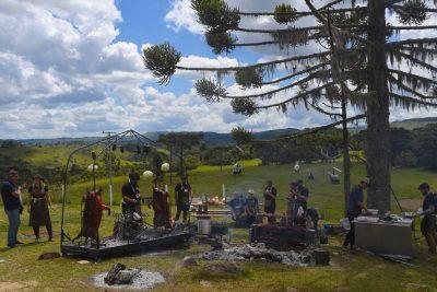 Abertura da Vindima 2020, na Vinícola Pericó reúne visitantes de todo estado na Serra Catarinense