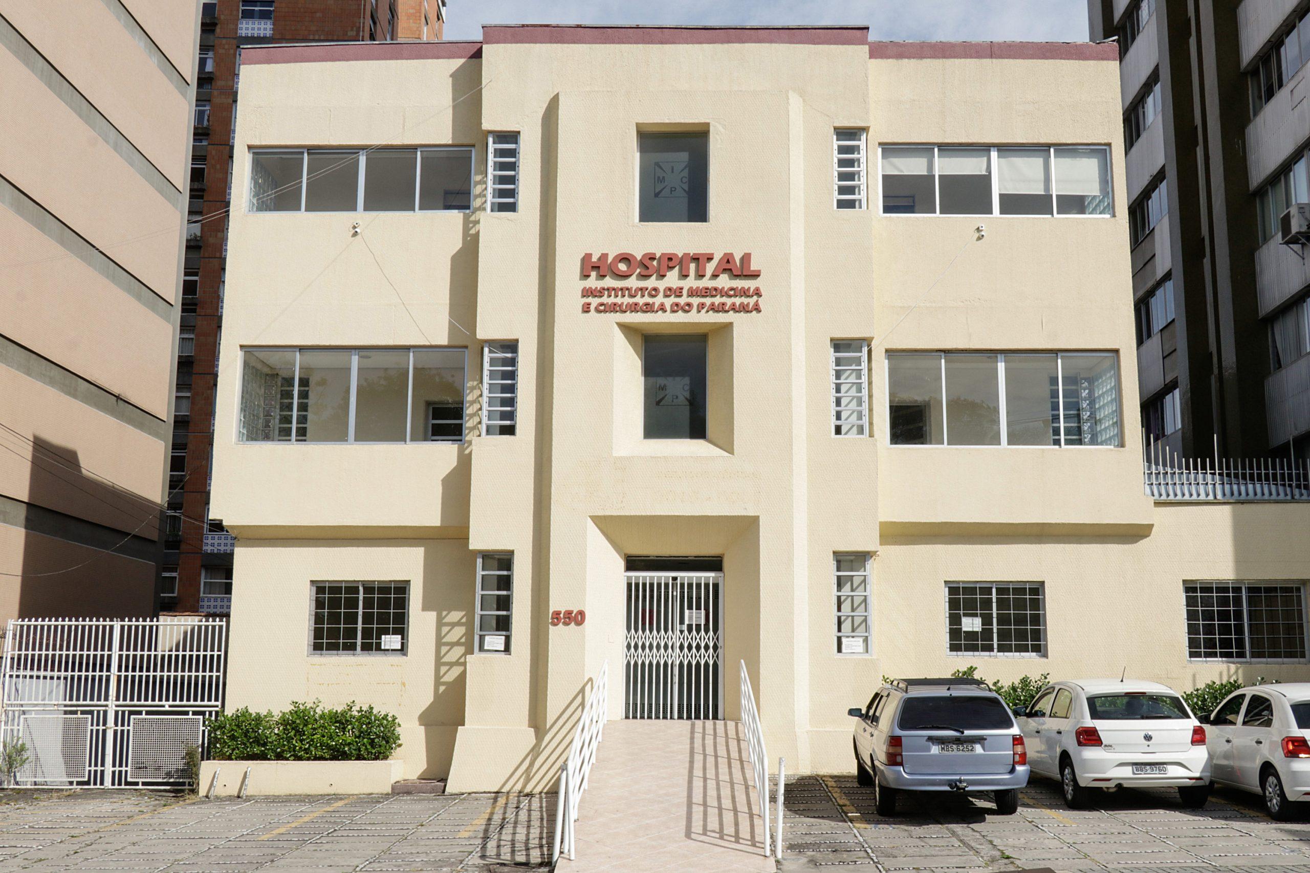 Prefeito Rafael Greca, anuncia reabertura do Hospital Instituto de Medicina e Cirurgia do Paraná. Curitiba. 25/06/2020 Foto: Ricardo Marajó / SMCS