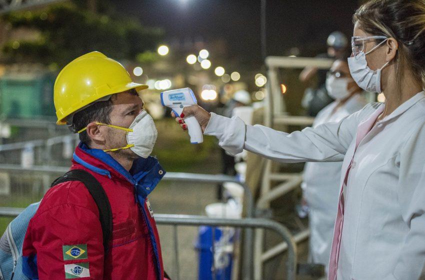 Porto de Paranaguá reforça medidas para prevenir Covid-19