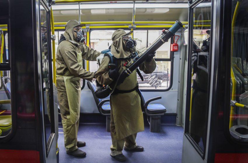 Exército vai auxiliar na sanitização dos ônibus de Curitiba