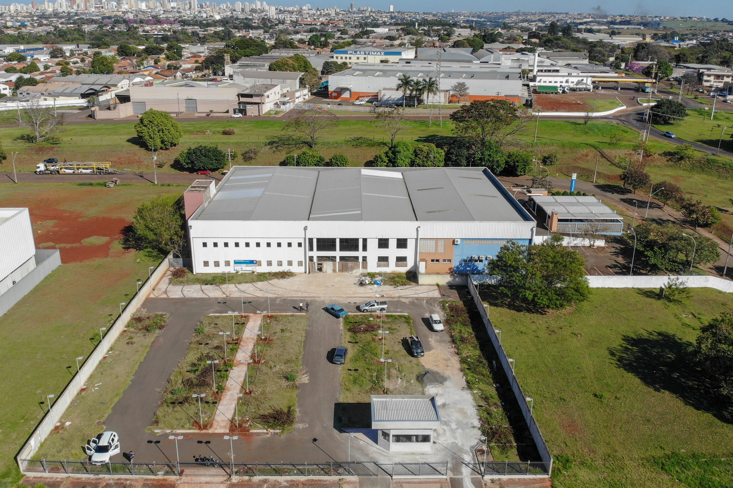 Barracão vai se transformar na casa da inovação de Londrina