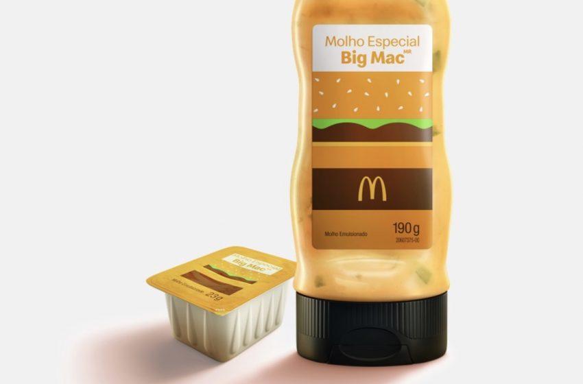 Méqui venderá edição limitada do molho especial do Big Mac