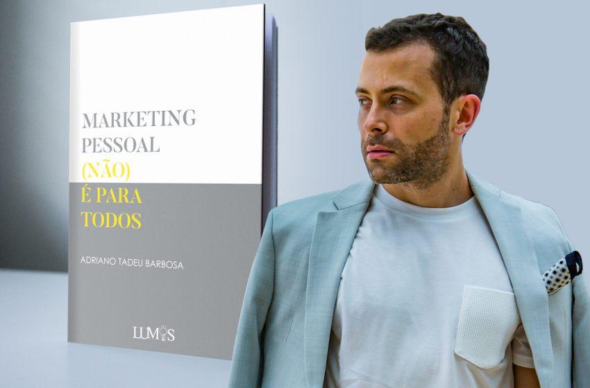Adriano Tadeu Barbosa lança livro na Livraria da Vila do Pátio Batel